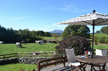 View of the Snowdonia Mountain Range from your Patio